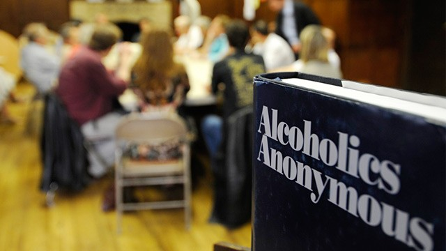 Alcoholics Anonymous Meeting
