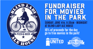 Movie Night Fundraiser at Blind Lady @ Blind Lady Ale House | San Diego | California | United States