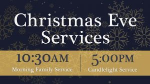 Christmas Eve Morning Family Service @ Normal Heights United Methodist Church