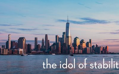 Listen Now – The Idol Of Stability – Mark 13: 1-8