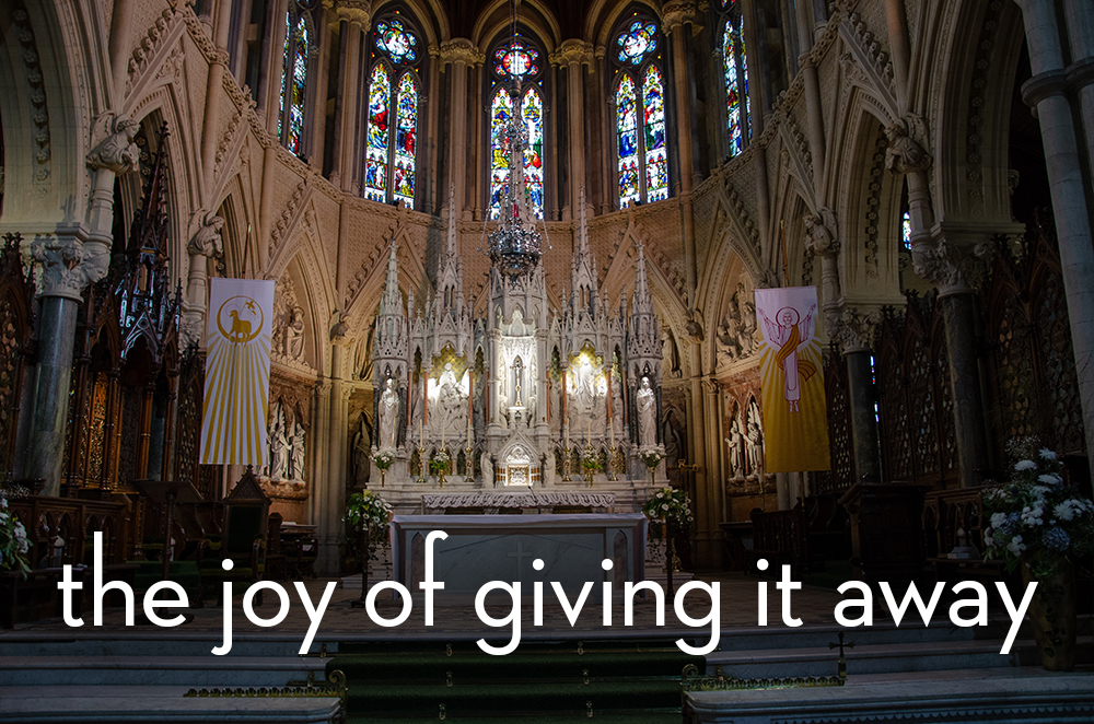 Listen Now – The Joy Of Giving It Away – Matthew 13:44